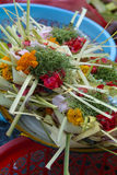 Balinese Hindu Offerings Stock Images