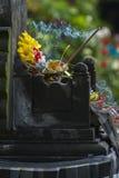Balinese Hindu Offerings Called Canang Royalty Free Stock Photos