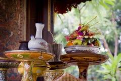 Balinese Hindu Offerings Royalty Free Stock Photo