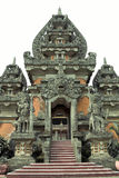 Balinese hindu temple. Wide shot of balinese hindu temple Stock Images