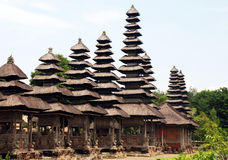 balinese  hindu temple (Bali, Indonesia) Stock Image