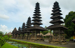 Balinese hindu Temple Taman Ayun in Mengwi  Bali, Indonesia Royalty Free Stock Images