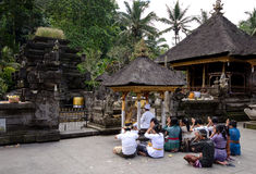 Balinese Hindus Stock Afbeelding