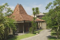 Balinese house Royalty Free Stock Photos