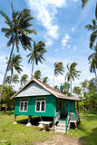 Balinese house Stock Images