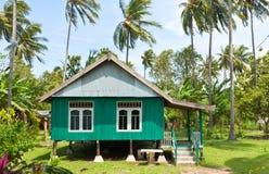 Balinese house Royalty Free Stock Image