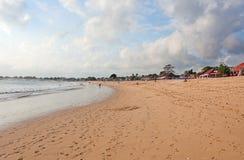 Balinese Jimbaran beach Stock Photos