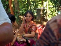 Balinese Jonge Dame Stock Foto