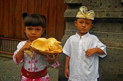 Balinese kids Royalty Free Stock Photos