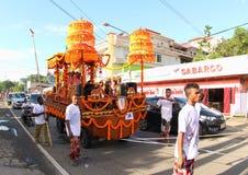 Balinese-Kunst an kulturellem Festival 2017 stockbilder