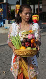 Balinese lady at Malesti Royalty Free Stock Image