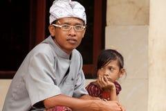 Balinese man Royalty Free Stock Image