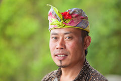 Balinese man Stock Photos
