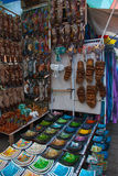 Balinese market. Bali, Indonesia. Balinese market. Souvenirs of wood and crafts of local residents. Bali, Indonesia Stock Photos