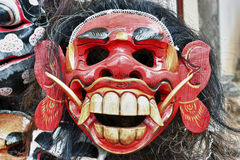 Balinese mask in a shop Stock Images