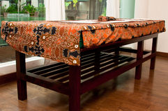 Balinese Massage Bed Stock Photography