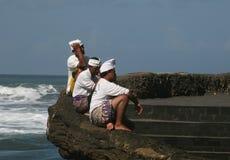 Balinese men Stock Image