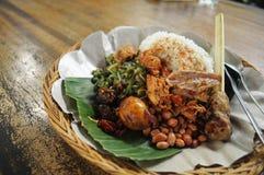 Balinese Mixed Rice Royalty Free Stock Photography