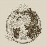 Balinese Monster Royalty Free Stock Photo