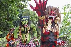 Balinese-neues Jahr Lizenzfreie Stockfotografie