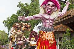 Balinese New Year stock images