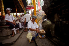 Balinese New year -Day of Silence Royalty Free Stock Photography