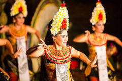 Balinese Night Show Royalty Free Stock Images