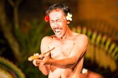 Balinese Night Show Royalty Free Stock Photos