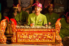Balinese Night Show Stock Images