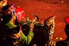 Balinese Night Show Royalty Free Stock Image