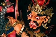 Balinese Nyepi-Tagesfloss lizenzfreies stockbild