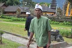 Balinese Old Man Asia, Indonesia Stock Photos