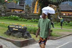 Balinese Old Man Asia, Indonesia Royalty Free Stock Images