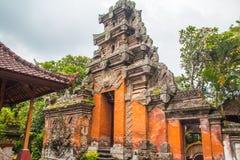 Balinese Palace Door Royalty Free Stock Photo