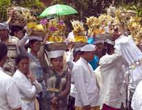Balinese peolple Lizenzfreie Stockfotos