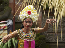 Balinese performer at a Barong ceremony Stock Photos