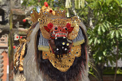 Balinese performs Barong and Kris Dance Royalty Free Stock Image