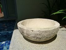 Balinese pot decoration Royalty Free Stock Photo