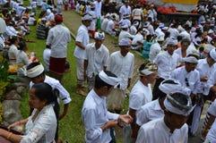 Balinese Praying Ceremony Royalty Free Stock Images