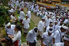 Balinese Praying Ceremony Royalty Free Stock Photos