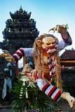 Balinese Rangda - traditional demon ogoh-ogoh at Nyepi parade Stock Image