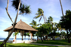 Balinese resort Royalty Free Stock Image