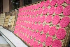 Balinese rice cakes Stock Photo
