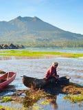 Balinese rural scene Stock Photo