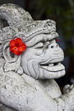 Balinese-Schnitzen stockbilder