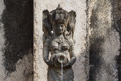 Balinese sculpture Royalty Free Stock Image