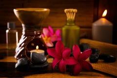 Balinese Spa ρύθμιση. Στοκ Εικόνες