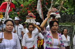 Balinese spiritual ceremony ritual Stock Photo