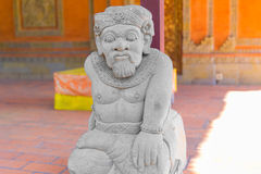 Balinese statue in temple complex, Bali, Indonesia Stock Photography