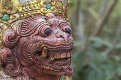 Balinese statues Royalty Free Stock Photography